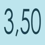 + 3.50 Dioptrías