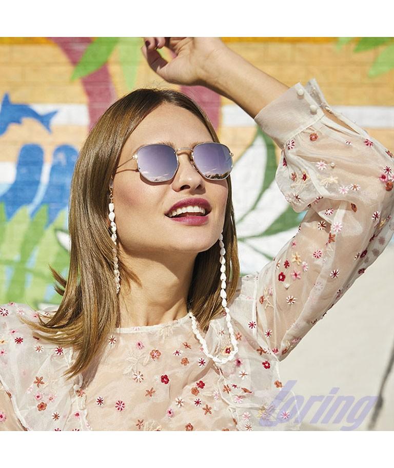 Gafas de sol de moda espejadas